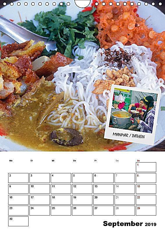 Der Küchenplaner food der küchenplaner wandkalender 2019 din a4 hoch