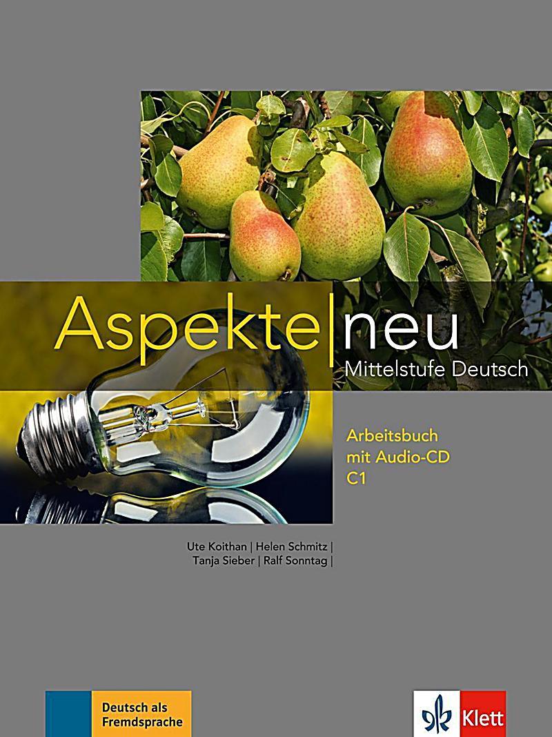 aspekte neu mittelstufe deutsch arbeitsbuch c1 m audio cd buch. Black Bedroom Furniture Sets. Home Design Ideas