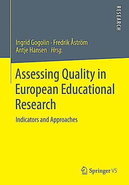 assessing the quality of education in Read chapter 5 assessment in science education:  on implementing and assessing  should have access to quality science education and should be expected .