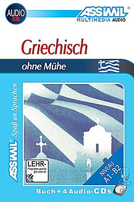 assimil griechisch ohne m he lehrbuch und 4 audio cds. Black Bedroom Furniture Sets. Home Design Ideas