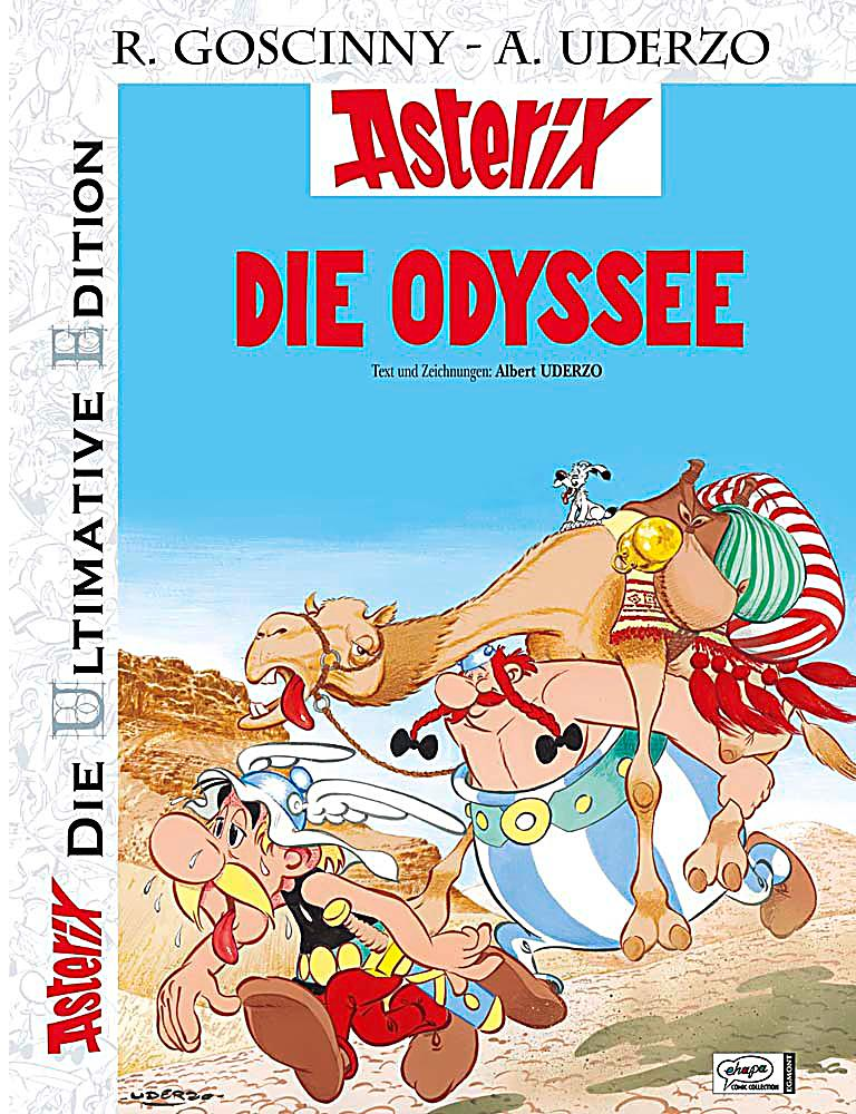 asterix die ultimative edition die odyssee buch. Black Bedroom Furniture Sets. Home Design Ideas