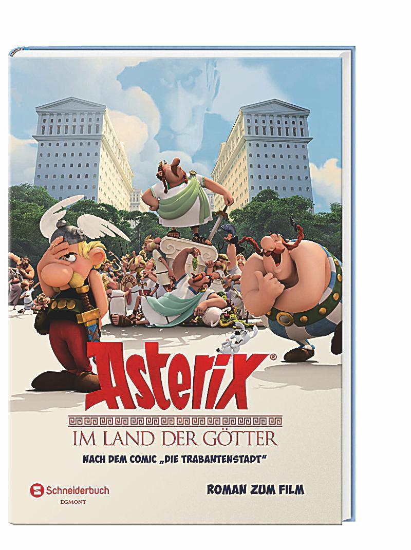 asterix im land der g tter roman zum film buch. Black Bedroom Furniture Sets. Home Design Ideas