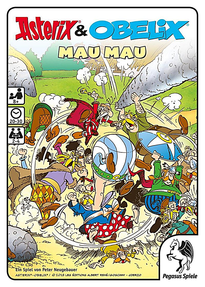 asterix obelix kartenspiel mau mau bestellen. Black Bedroom Furniture Sets. Home Design Ideas