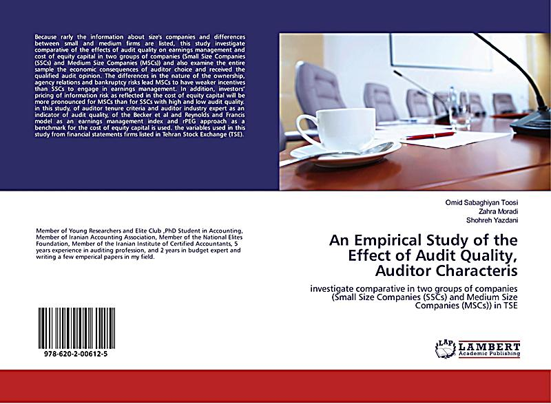 audit quality framework A framework for understanding and researching audit quality auditing: a journal of practice and theory (may 2011), vol 30, no 2, pp 125-152 a framework for understanding and researching audit quality // trulaske college of business // university of missouri.