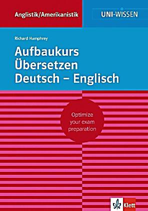 Aufbaukurs bersetzen deutsch englisch buch portofrei for Deutsch auf englisch ubersetzen