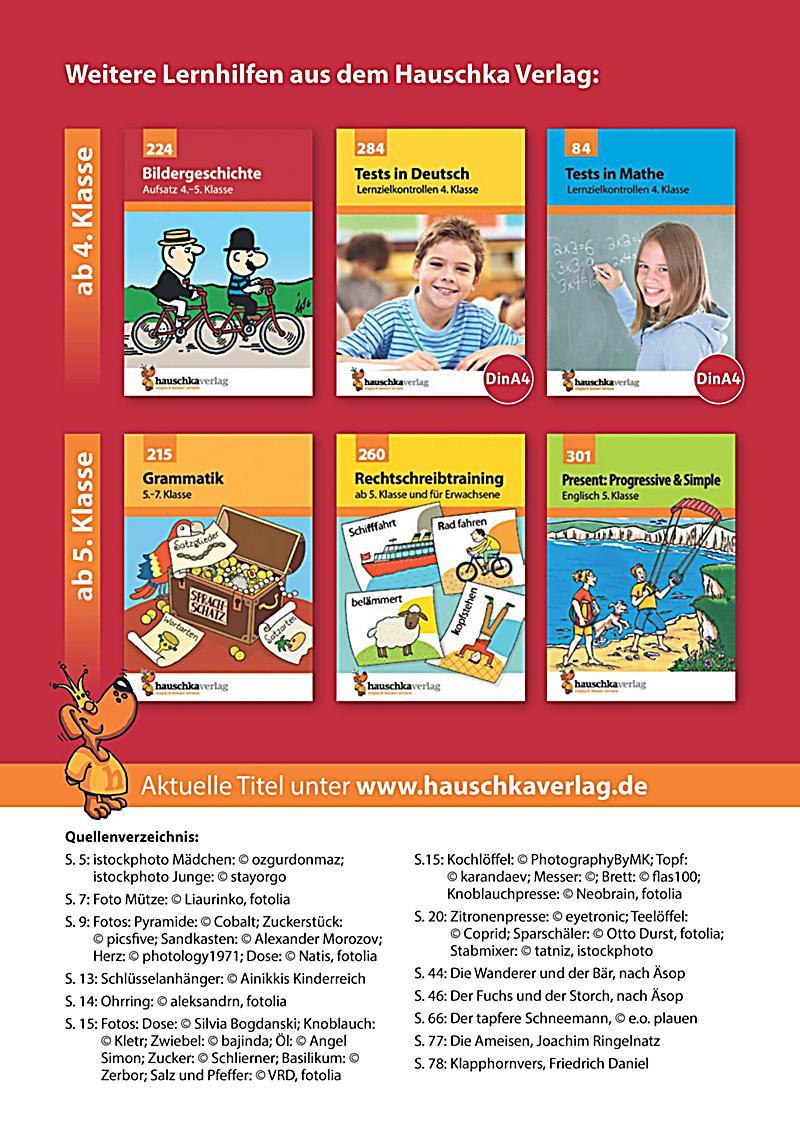 aufsatz deutsch 4 klasse buch bei weltbildde online