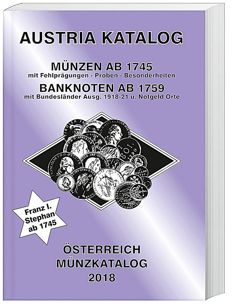 Austria Katalog M Nzen Sterreich 2018 Buch Portofrei