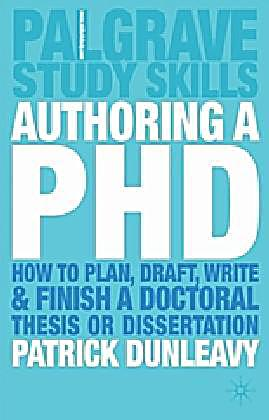 authoring a phd thesis pdf
