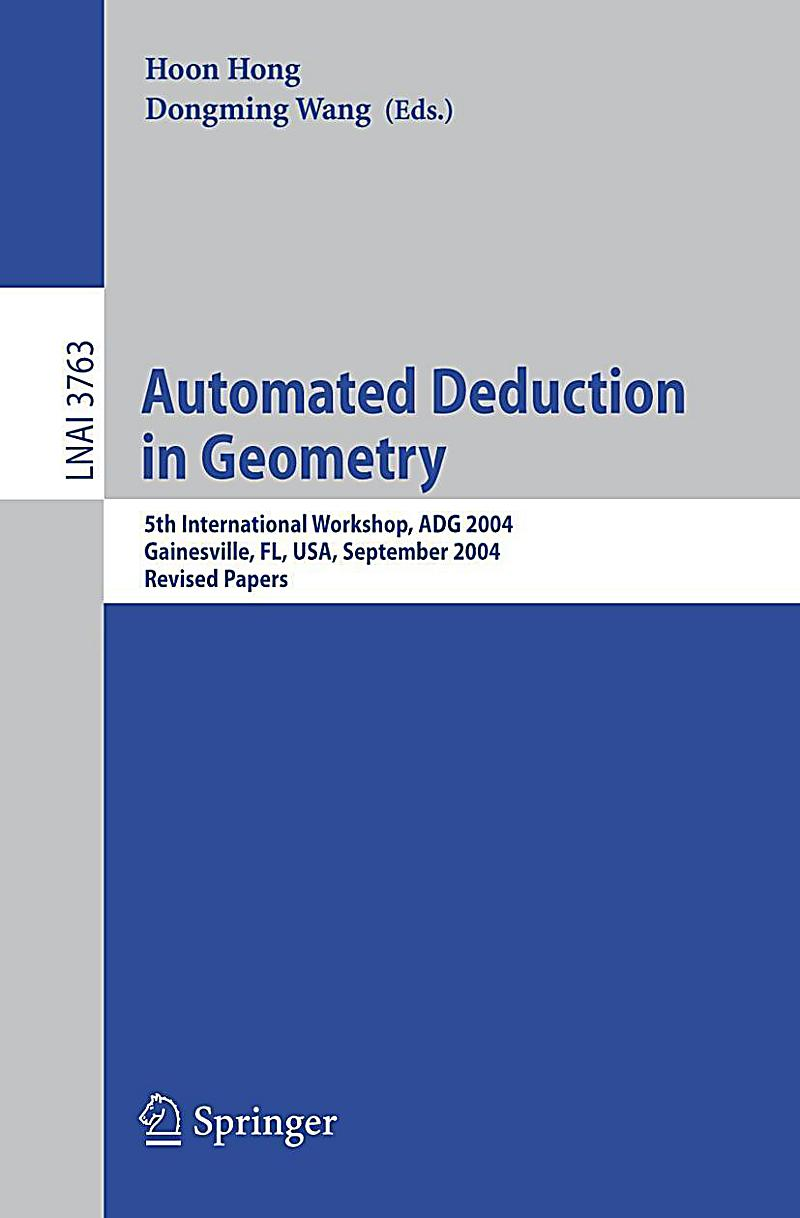 automated deduction in geometry buch portofrei bei. Black Bedroom Furniture Sets. Home Design Ideas
