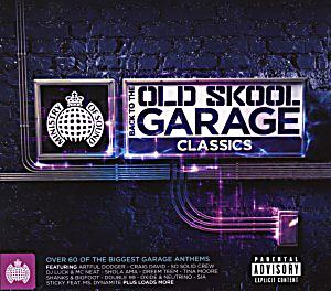 Back to the old skool garage classics cd bei for Old skool house classics list