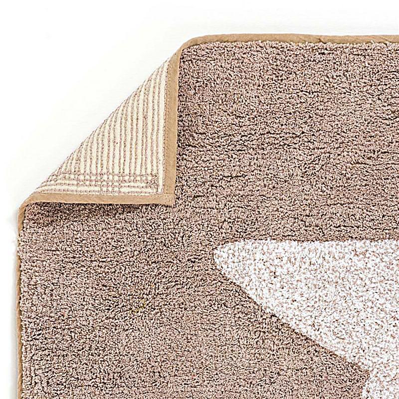 badematte mit sternmotiv taupe gr e 60x100 cm. Black Bedroom Furniture Sets. Home Design Ideas