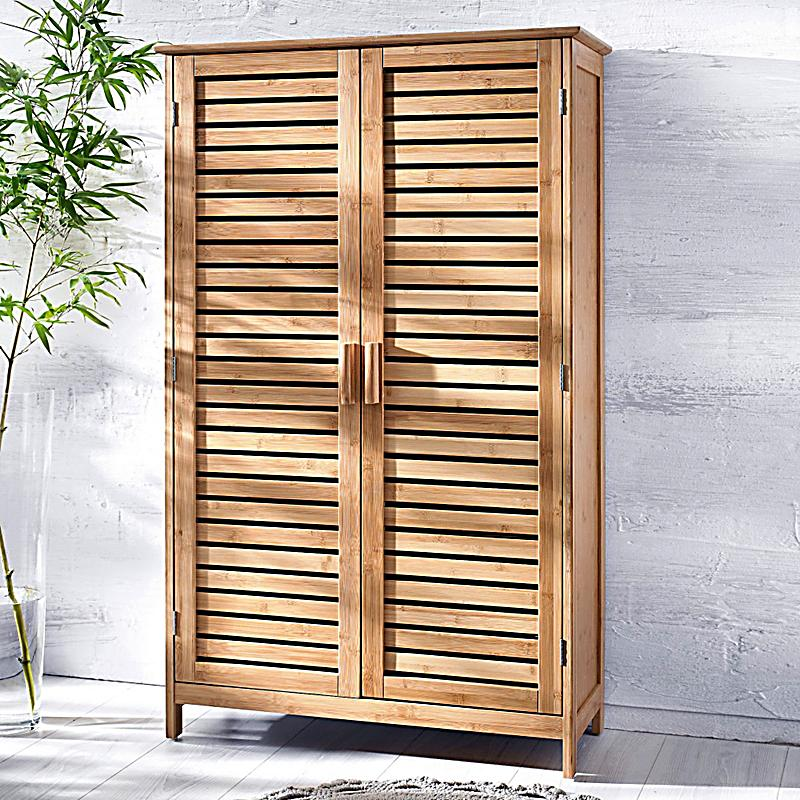 badschrank bamboo breit farbe braun bestellen. Black Bedroom Furniture Sets. Home Design Ideas