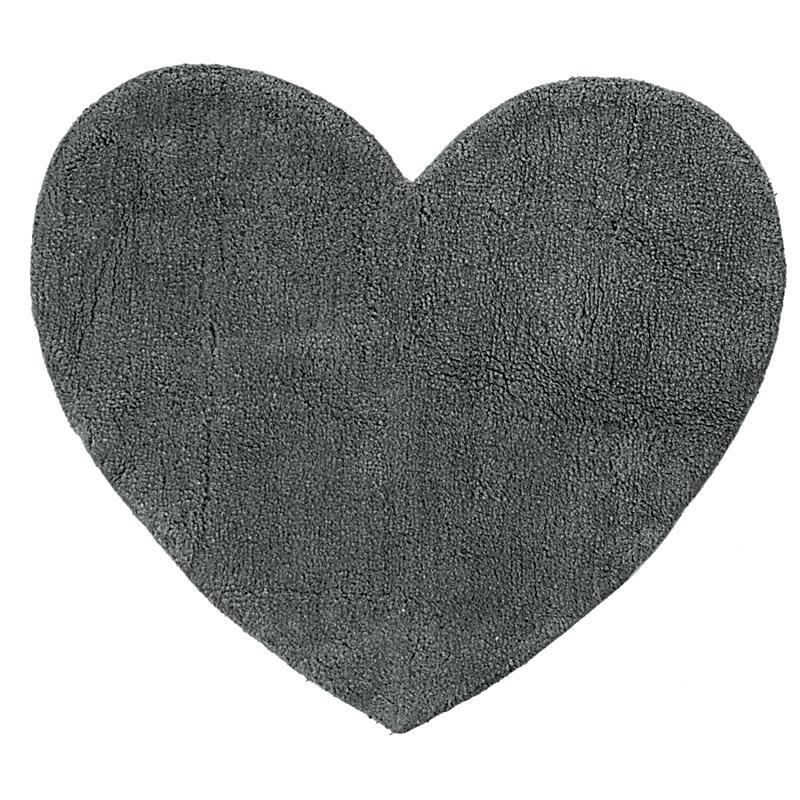Badteppich Herz Grau jetzt bei Weltbildde bestellen