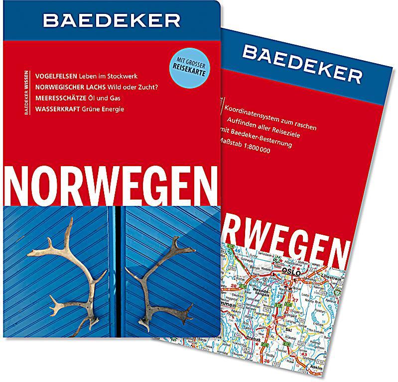 Baedeker Norwegen Buch Von Christian Nowak Portofrei