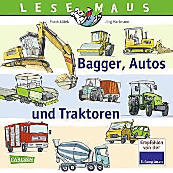 Bagger, Autos und Traktoren Buch portofrei bei Weltbild.de