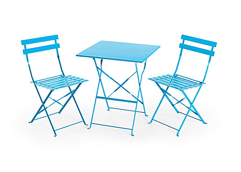 Balkon Möbel Set balkonmöbel set blau jetzt bei weltbild de bestellen