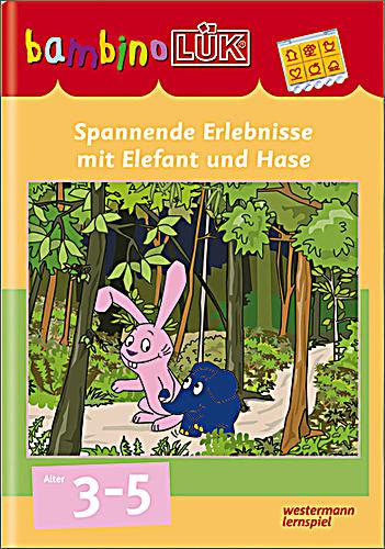 bambino l k spannende erlebnisse mit elefant und hase buch. Black Bedroom Furniture Sets. Home Design Ideas