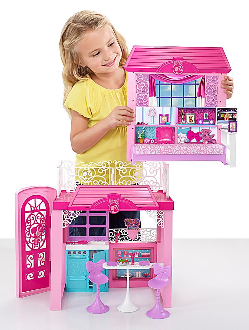 barbie design ferienhaus jetzt bei bestellen. Black Bedroom Furniture Sets. Home Design Ideas