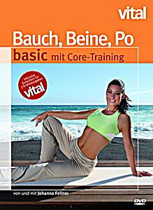 bauch beine po basic mit core training dvd. Black Bedroom Furniture Sets. Home Design Ideas