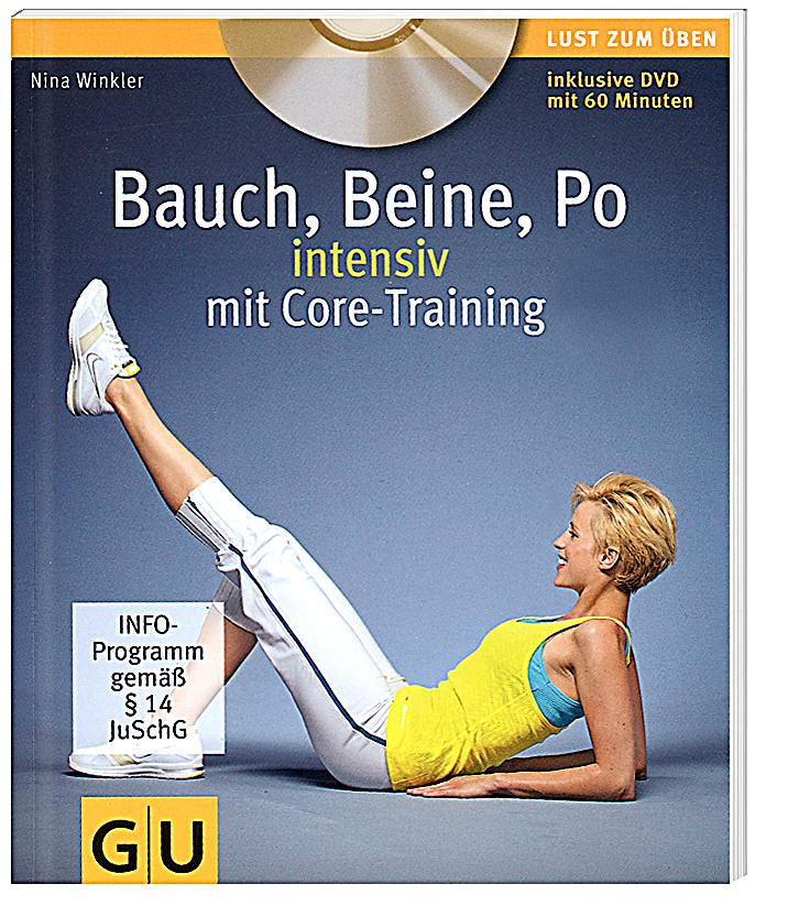 bauch beine po intensiv mit core training m dvd buch. Black Bedroom Furniture Sets. Home Design Ideas