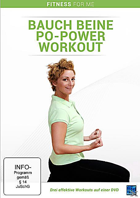 bauch beine po power workouts dvd box dvd. Black Bedroom Furniture Sets. Home Design Ideas