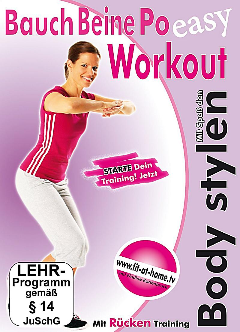 bauch beine po workout dvd jetzt bei online bestellen. Black Bedroom Furniture Sets. Home Design Ideas