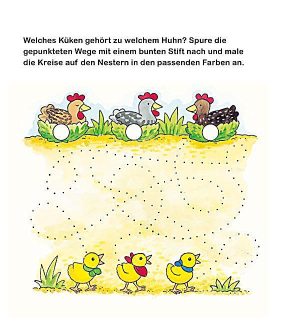 Bauernhof Kindergarten-Rätsel Buch bei Weltbild.ch bestellen