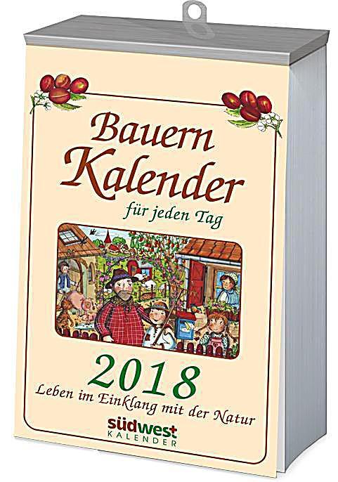 bauernkalender f r jeden tag 2018 textabrei kalender kalender bestellen. Black Bedroom Furniture Sets. Home Design Ideas