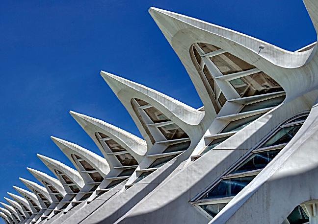 Beeindruckende architektur von valencia posterbuch din a2 for Architektur valencia
