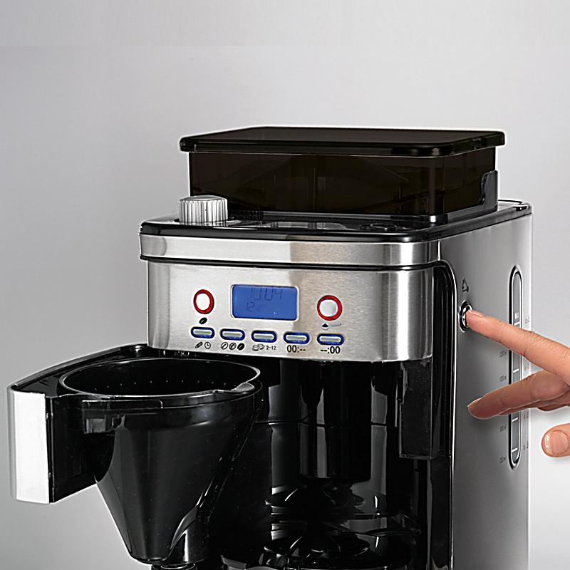 beem fresh aroma perfect superior kaffeemaschine mit mahlwerk edelstah. Black Bedroom Furniture Sets. Home Design Ideas