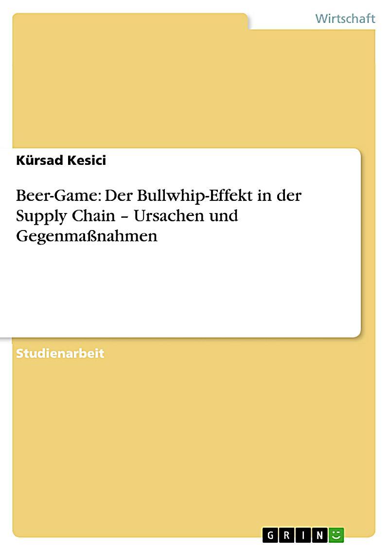beer game der bullwhip effekt in der supply chain ursachen und gegenmassnahmen ebook. Black Bedroom Furniture Sets. Home Design Ideas