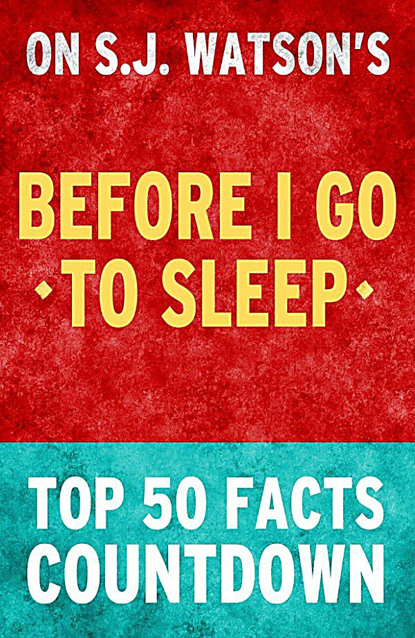 pdf before i go to sleep