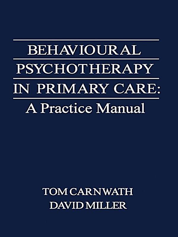 Behavioural Psychotherapy in Primary Care ebook : weltbild.de