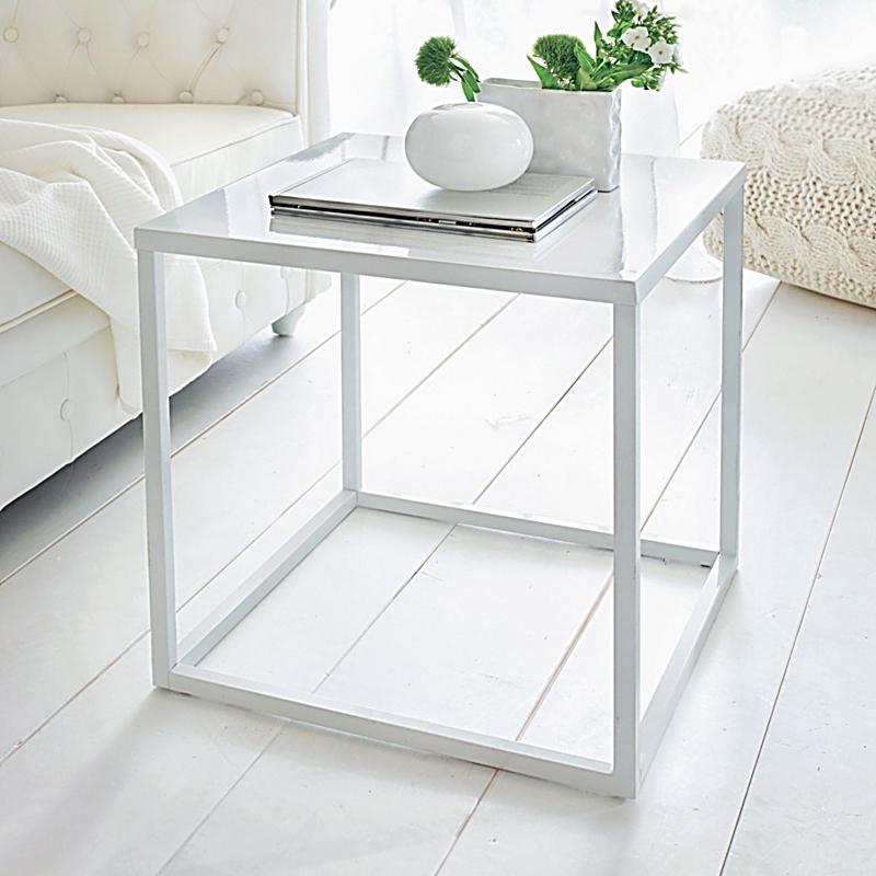 beistelltisch wei jetzt bei bestellen. Black Bedroom Furniture Sets. Home Design Ideas