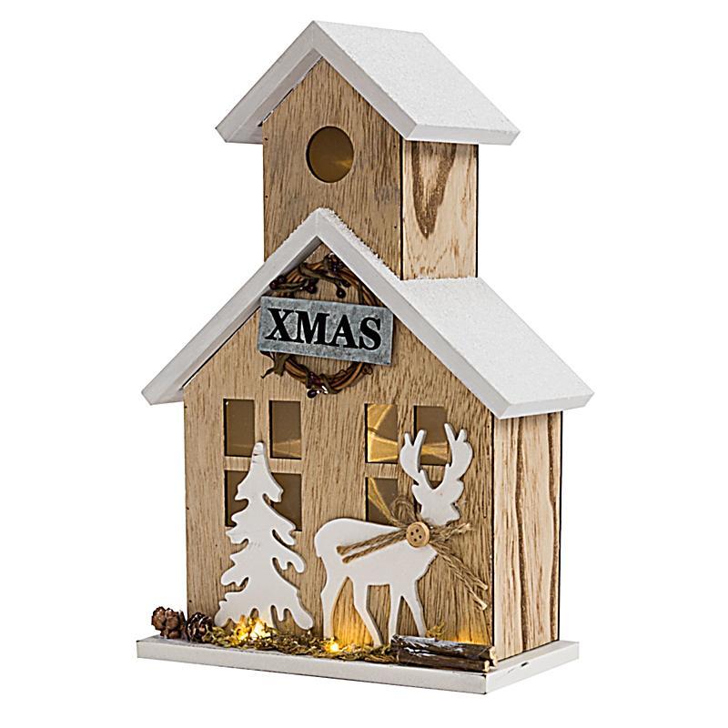Beleuchtetes deko objekt winterhaus bestellen for Deko bestellen