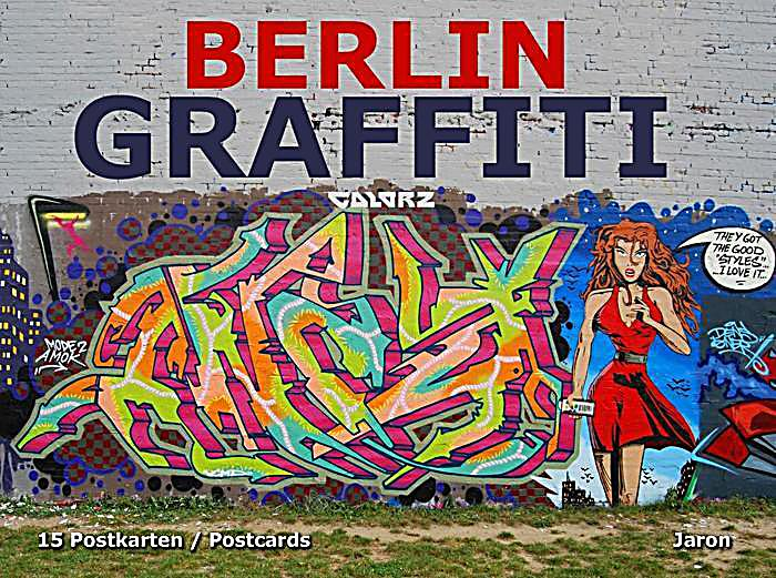 berlin graffiti postkarten buch bei online bestellen. Black Bedroom Furniture Sets. Home Design Ideas