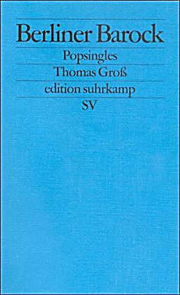Berliner Barock Popsingles Buch Bei Online