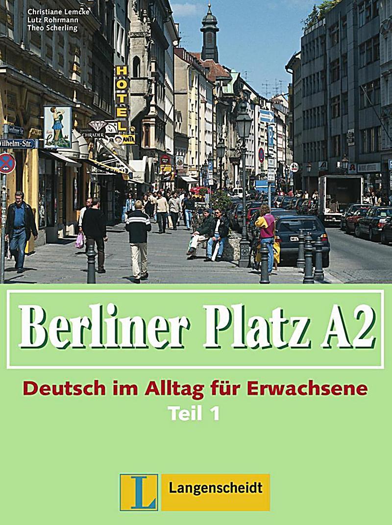 berliner platz ausgabe in teilb nden bd a2 lehr und. Black Bedroom Furniture Sets. Home Design Ideas