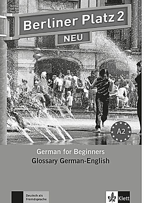 berliner platz neu bd 2 glossary german english buch. Black Bedroom Furniture Sets. Home Design Ideas