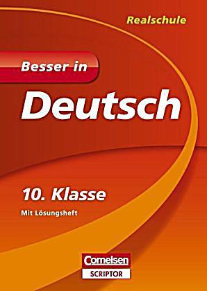 besser in deutsch realschule 10 klasse buch weltbildde