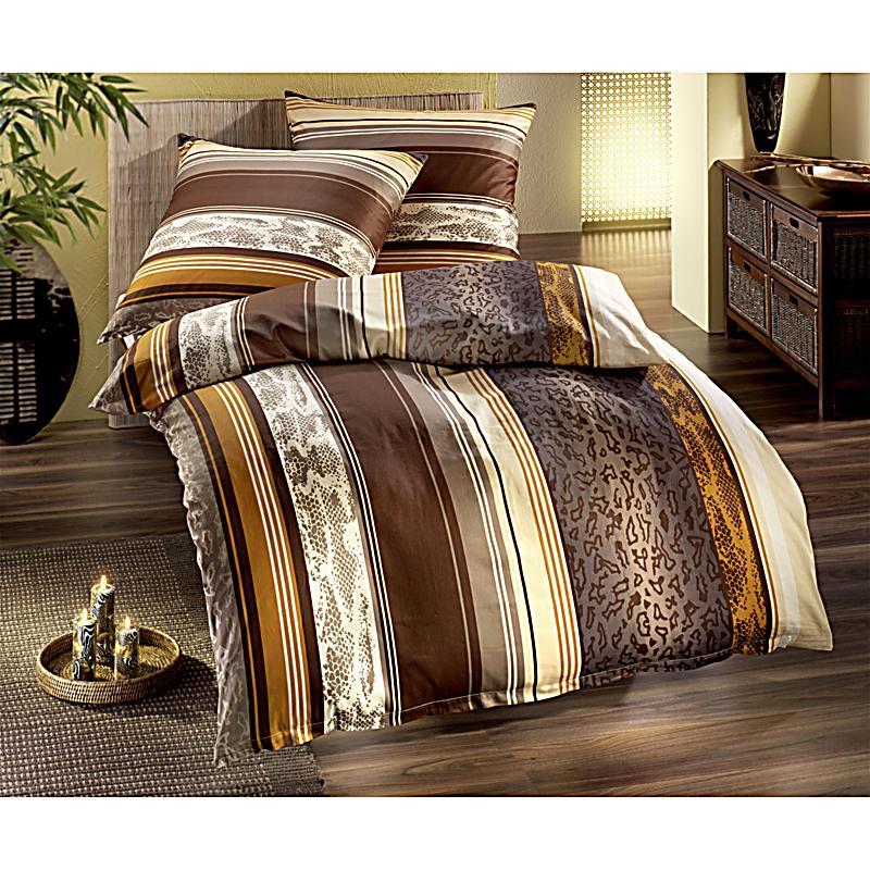 bettw sche afrika aus satin gr e 155 x 220 cm. Black Bedroom Furniture Sets. Home Design Ideas