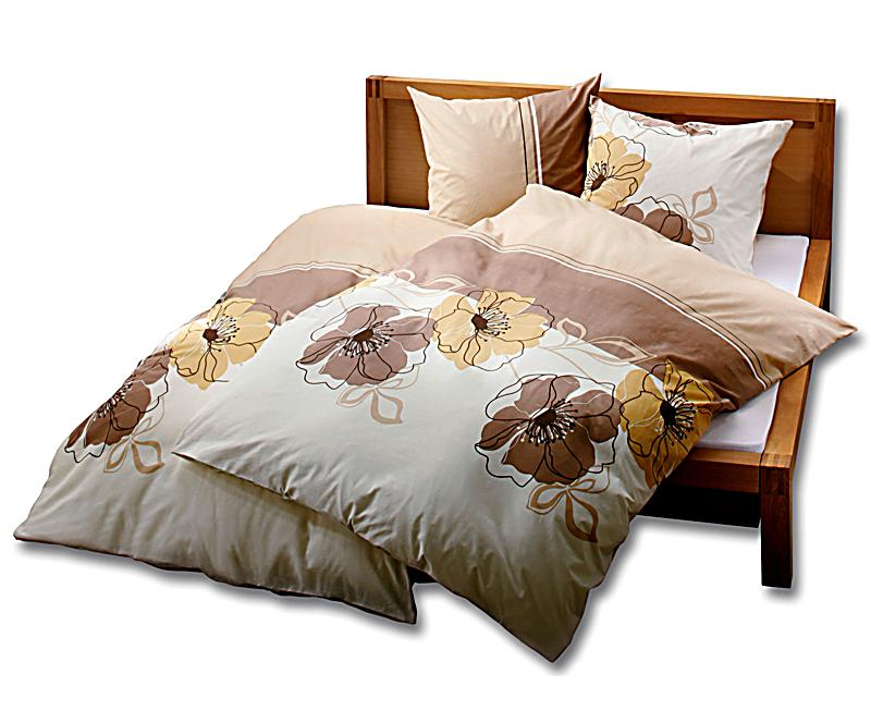 bettw sche annika beige gr e 135 x 200 cm. Black Bedroom Furniture Sets. Home Design Ideas