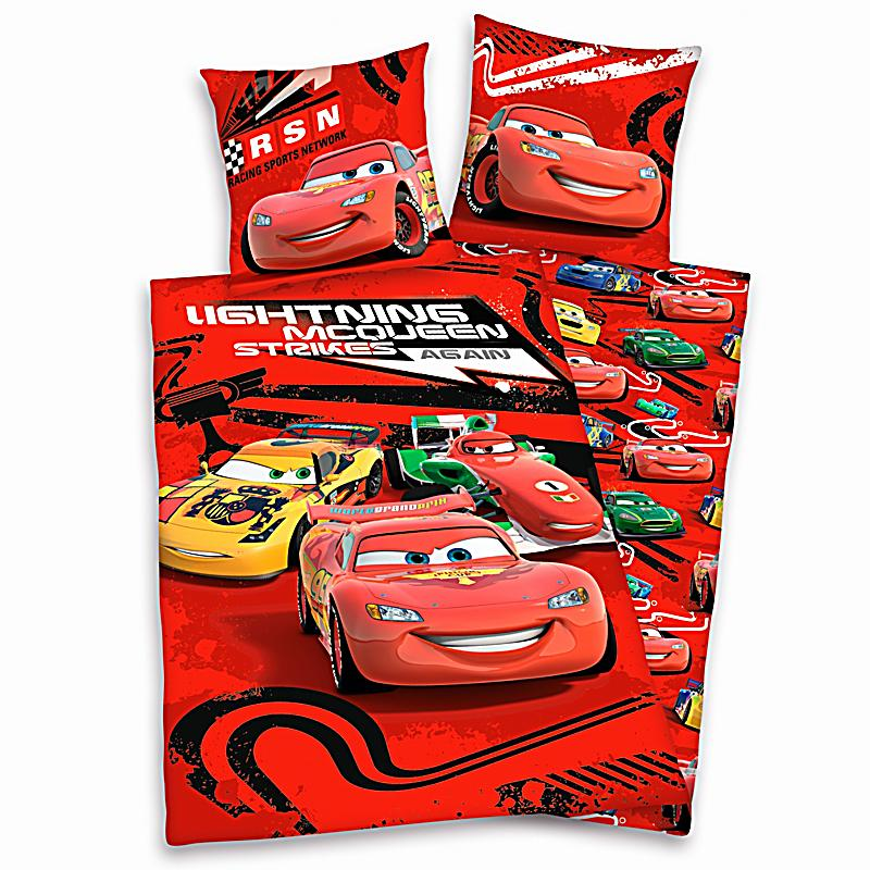 bettw sche disney cars linon 135 x 200 cm. Black Bedroom Furniture Sets. Home Design Ideas