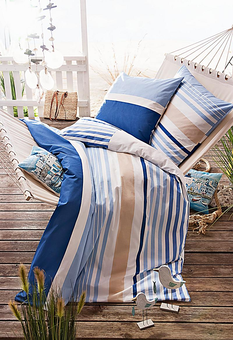 bettw sche ocean stripes 135 x 200 cm bestellen