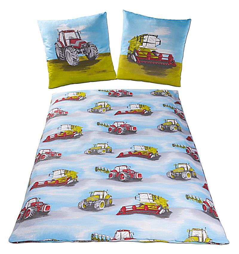 bettw sche traktor beige renforc 135 x 200 cm. Black Bedroom Furniture Sets. Home Design Ideas