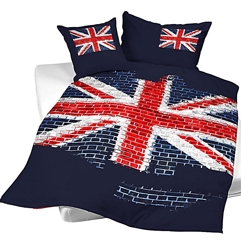 bettw sche union jack gr sse 135 x 200cm bestellen. Black Bedroom Furniture Sets. Home Design Ideas
