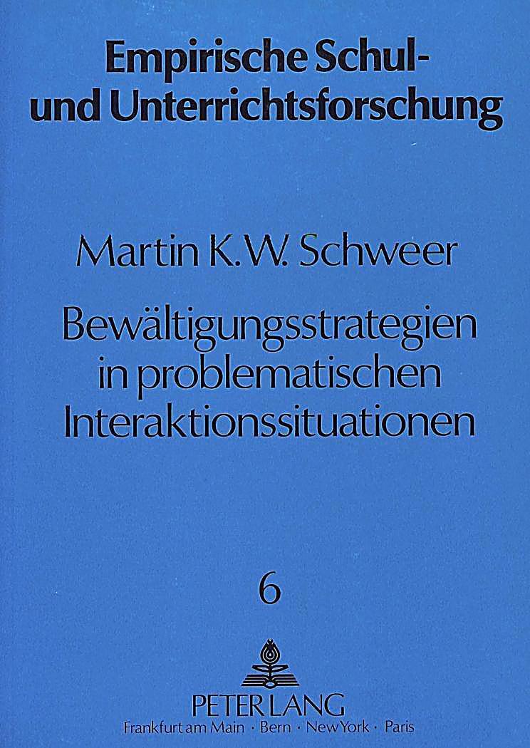 Bewältigungsstrategien in problematischen Interaktionssituationen Buch