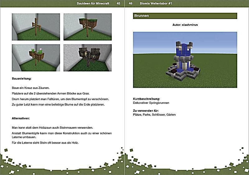 BIOMIA - Weltenlabor 1 - Bauanleitungen für Minecraft Buch kaufen