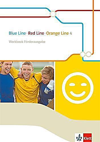 blue line red line orange line 4 workbook f rderausgabe 8 klasse. Black Bedroom Furniture Sets. Home Design Ideas