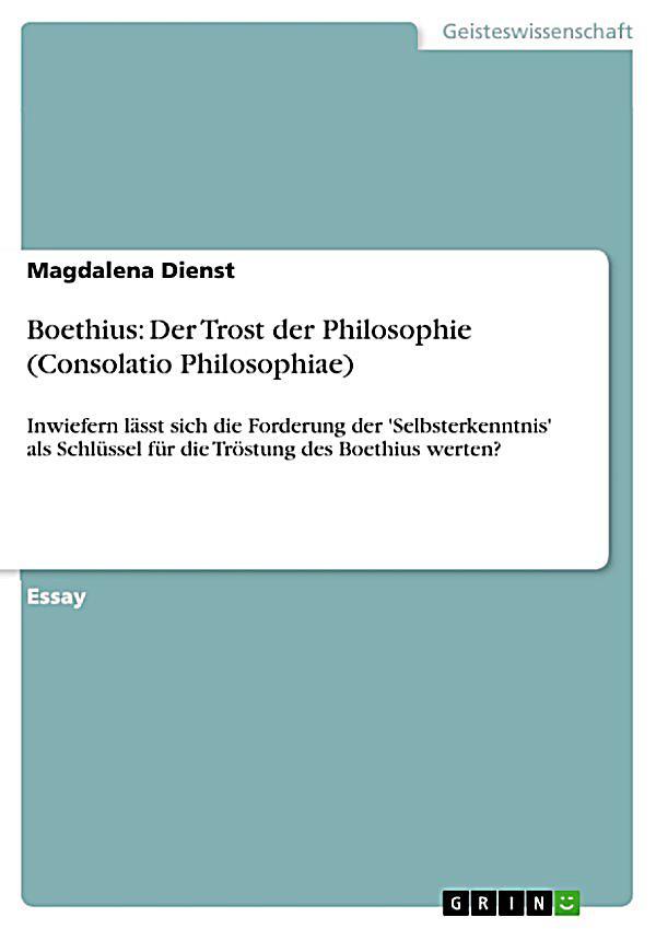 boethius trost der philosophie essay